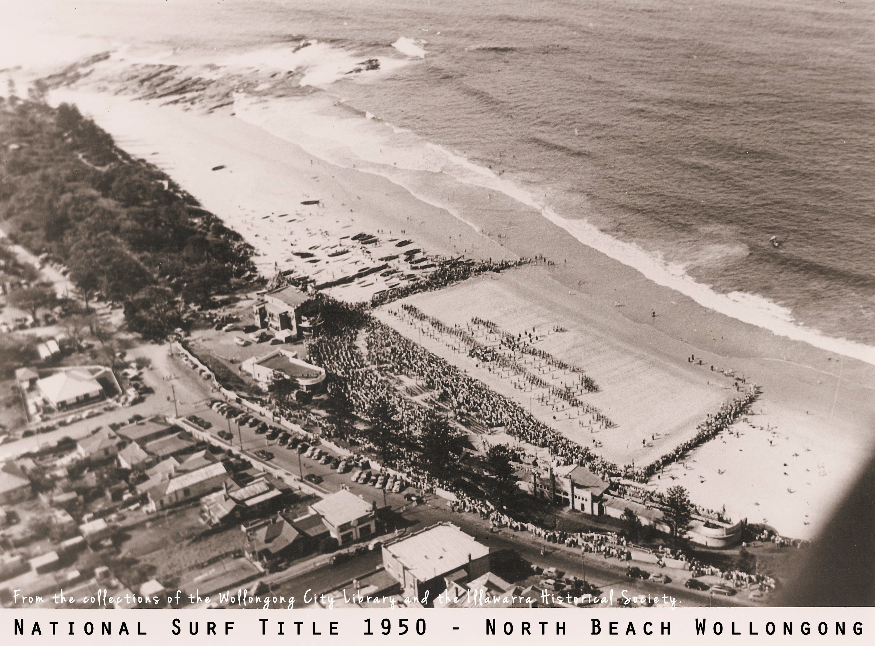 national surf title north beach wollongong 1950