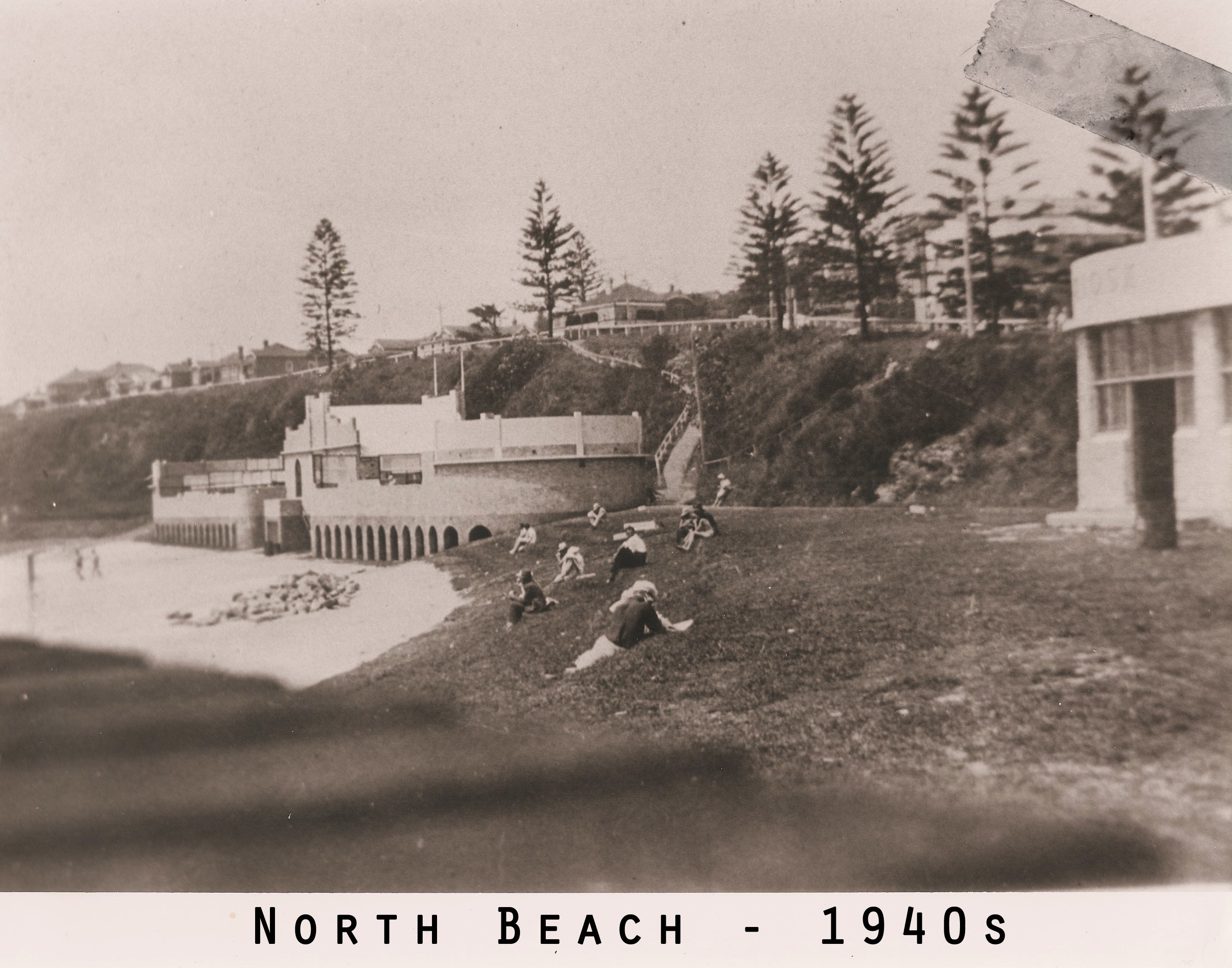 North Beach 1940