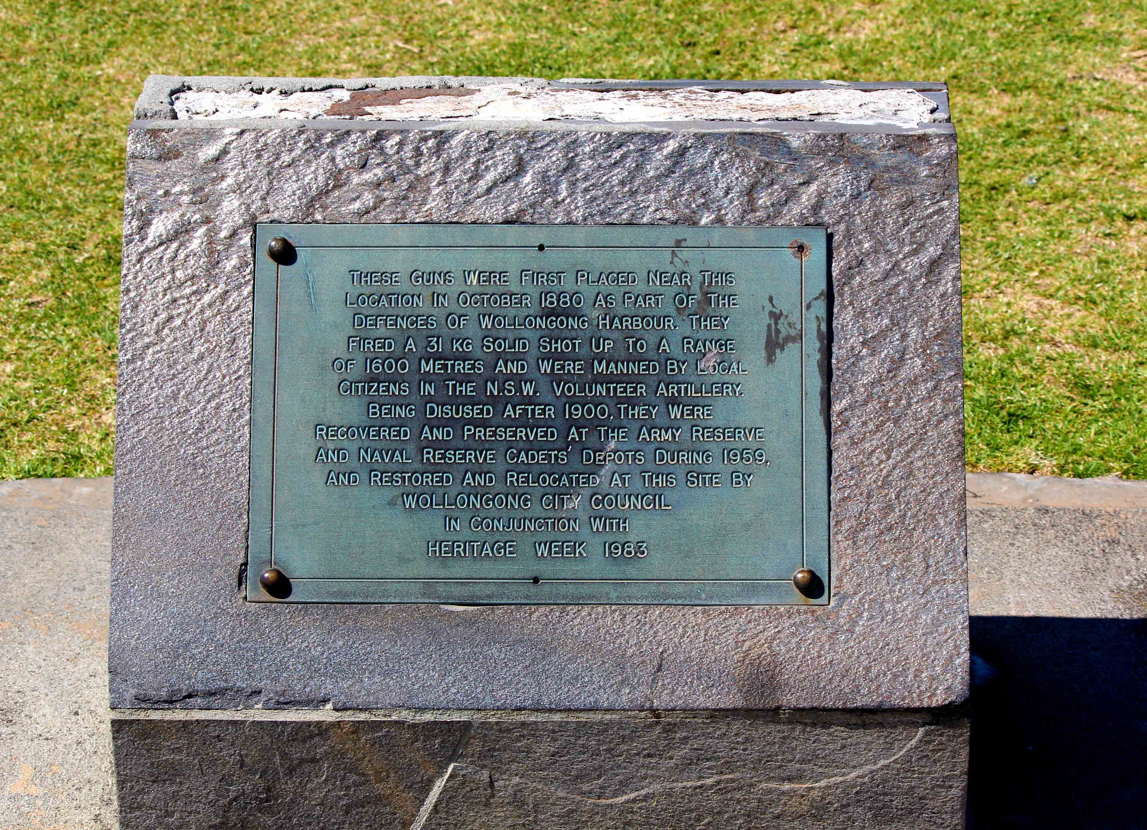 flagstaff hill plaque